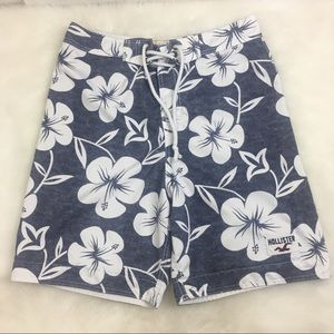 Men's Hollister Hawaiian Swim Trunks Size medium